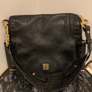 Givenchy Leather Croc Detail Bag